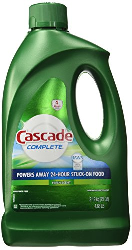 Cascade Complete Gel All-in-1 Dishwasher Detergent - 75 oz - Fresh (Dishwasher Detergent Gel)