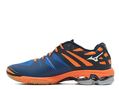 arancione Blu Lightning bianco Scarpe Indoor Sportive Uomo Z Mizunowave xRYT1zwq01