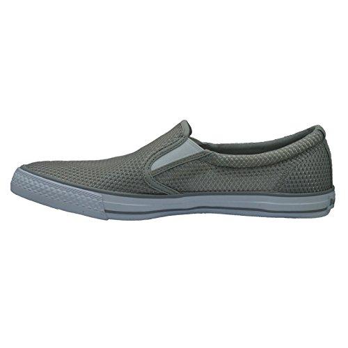 Burnetie Heren Grijze Skid Ll Mesh Sneaker