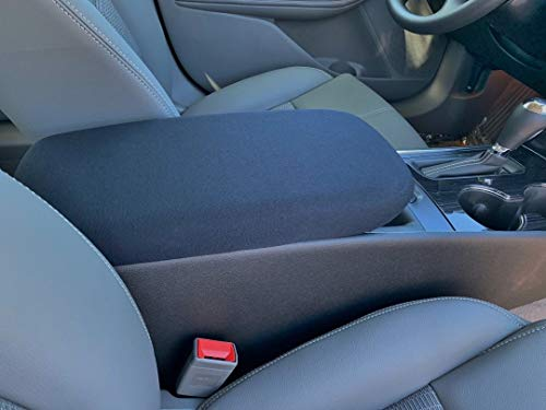 Auto Console Covers- Compatible with The Chevy Impala 2014-2019 Center Console Armrest Cover Waterproof Neoprene Fabric - ()