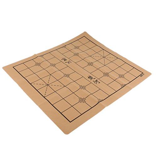 homyl ChineseチェスゲームセットFamily Funおもちゃのチェス盤チェスアクセサリー52x 46cm