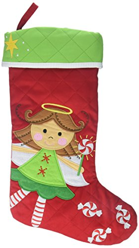 Stephen Joseph Christmas Stocking - Angels Stocking