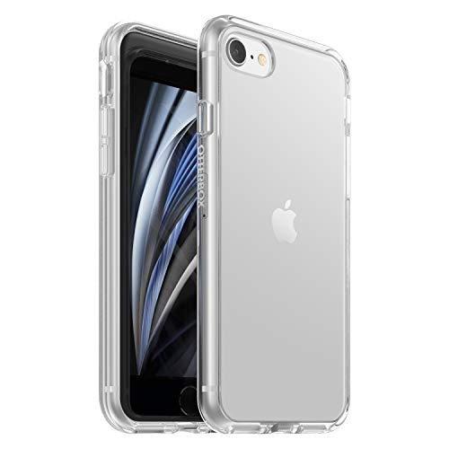 Otterbox Sleek - Funda Anti-Caídas Fina para iPhone SE 2020/8/7, Transparente, sin Caja Retail (77-65283)