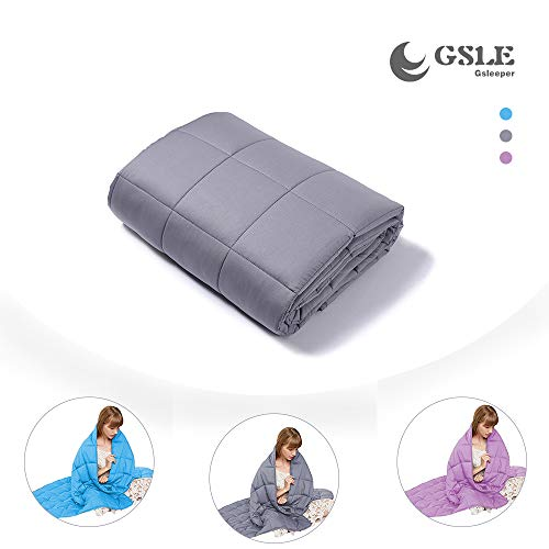 Gsleeper Weighted Blanket (Grey, 60