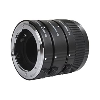 amazon   movo photo af macro extension tube set for