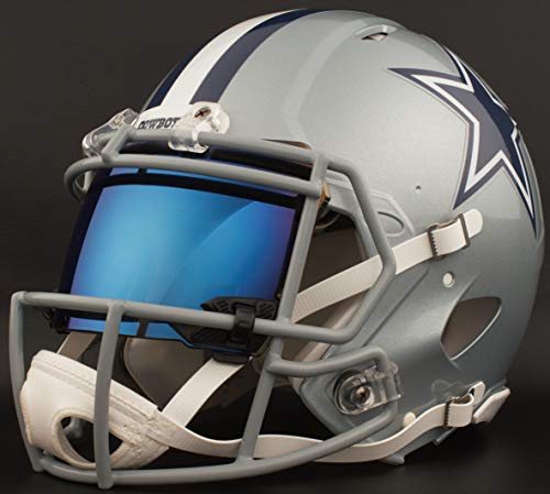 s Cowboys Full Size NFL Speed Authentic Football Helmet ()