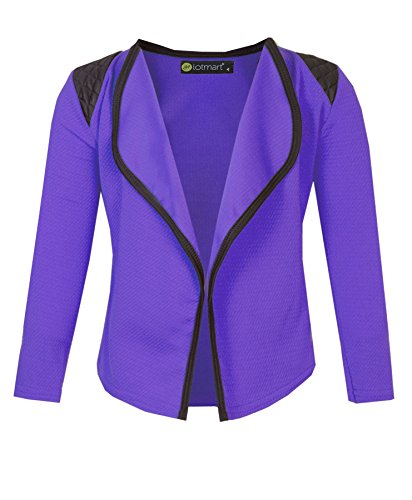 2775 Purple 13-14 Y Girls Blazer -