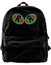 Canvas Backpack The Pro Era Rucksack Gym Hiking Laptop Shoulder Bag Daypack for Men Women