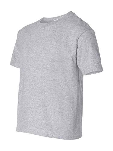 Gildan Ultra Cotton Youth T-Shirt, Sport Grey, Small