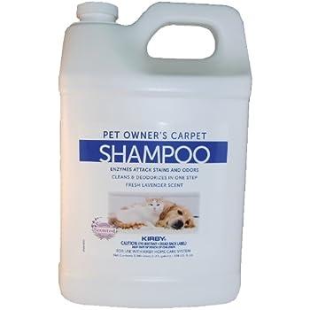 carpet shampoo. kirby professional strength carpet shampoo for pets 237507s f