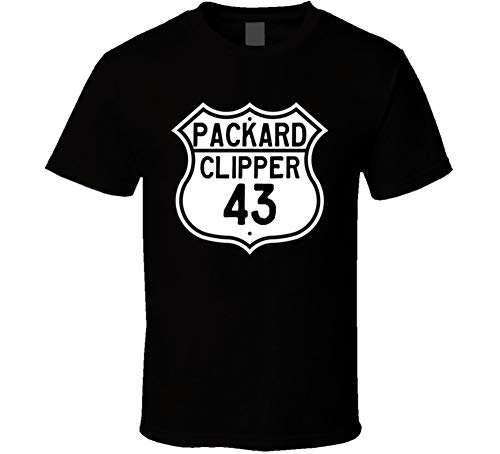 CarGeekTees.com 1943 Packard Clipper Highway Route, used for sale  Delivered anywhere in USA