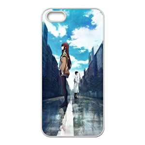 Steins Gate iPhone 5 5s Cell Phone Case White xlb-267739