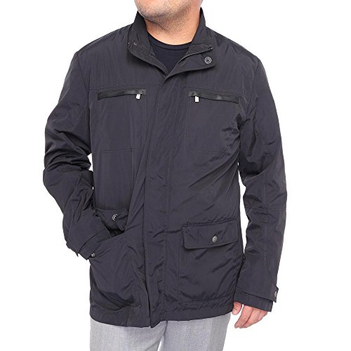 corneliani-men-water-resistant-zipper-rain-jacket-windbreaker-black