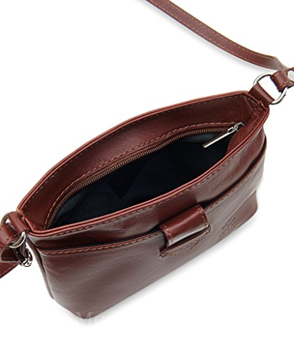 Bag Handbag Small Strap Fronted Body Italian Soft Jeans Leather or Shoulder Cross Genuine WTfUHq
