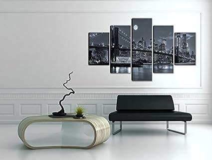 200/x 100/cm Visario 6304/Image sur Toile Abstrait 5/Tableaux sur Toile