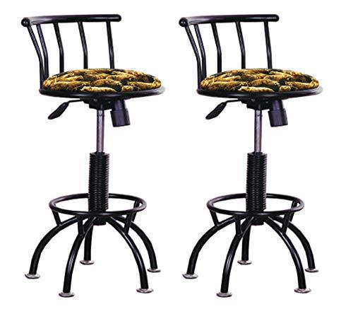 - Set of 2 - Adjustable Height Stools 24