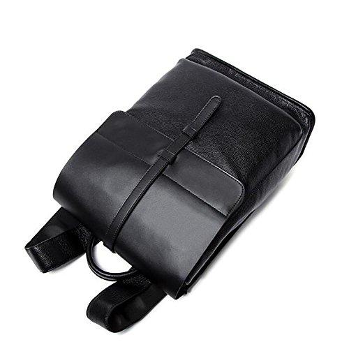 Zaini borse a spalla pelle viaggio di moda maschile 40 * 13 * 29cm