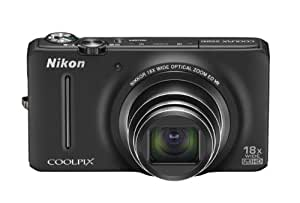 Nikon COOLPIX S9200 16 MP CMOS Digital Camera with 18x Zoom NIKKOR ED Glass Lens and Full HD 1080p Video (Black) (OLD MODEL)