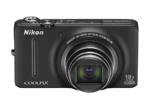(Nikon COOLPIX S9200 16 MP CMOS Digital Camera with 18x Zoom NIKKOR ED Glass Lens and Full HD 1080p Video (Black) (OLD MODEL))