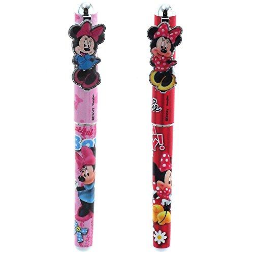 Disney Minnie Mouse 2pc Pen Set (Red, Pink)