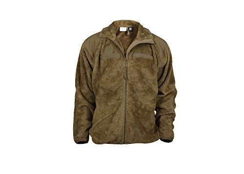 Rothco Generation III Level 3 ECWCS Fleece Jacket, Coyote Brown, S (Mens Army Fleece Jacket)