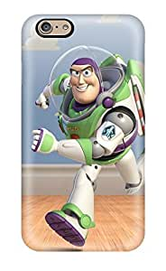 New Snap-on CaseyKBrown Skin Case Cover Compatible With Iphone 6- Buzz Lightyear In Toy Story 3