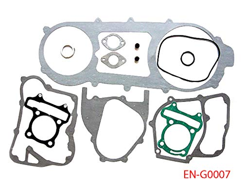 Complete Long Case Engine Gasket Set for GY6 150 150cc ATV Quad Scooter Moped Go Kart 157QMJ 13 Pieces