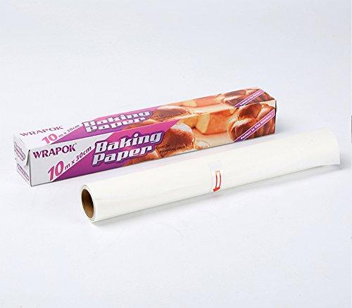 Papier cuisson anti-adhérent - papier sulfurisé - papier siliconé - Rouleau de 30 cm x 10 m