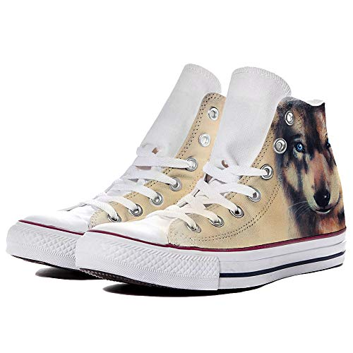 Wolf Sneaker Canvas Beauty Scarpe Unisex Hi By Star Yourstyle All Converse Personalizzate M7650c z6Zwz