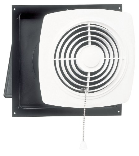 Broan 507 Chain Operated Utility Fan, 8-Inch 250 CFM 7.0 Sones