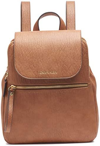 Calvin Klein Elaine Bubble Lamb Novelty Key Item Flap Backpack