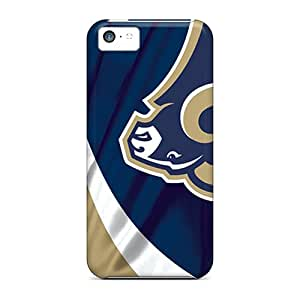Iphone 5c Bjh8094hXiF Provide Private Custom Beautiful St. Louis Rams Image Scratch Resistant Hard Phone Cases -IanJoeyPatricia
