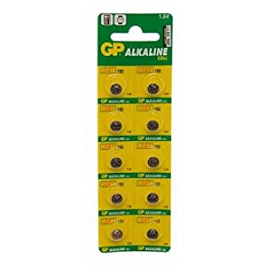 GP Batteries GP192-C10alcalinas pilas de botón (10x)