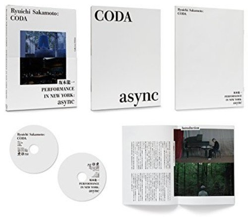 Blu-ray : Sakamoto, Ryuichi - Ryuichi Sakamoto: Coda (Collector's Edition, Japan - Import, 2PC)