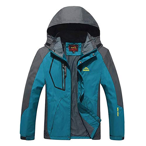 Cappuccio Antivento Outdoor Da Spring Blue Fall Huan Con 8xl Dimensione Male Trekking Giacche Lovers 2018 Giacca Uomo Campeggio New Donna colore Impermeabile aq6xAqS