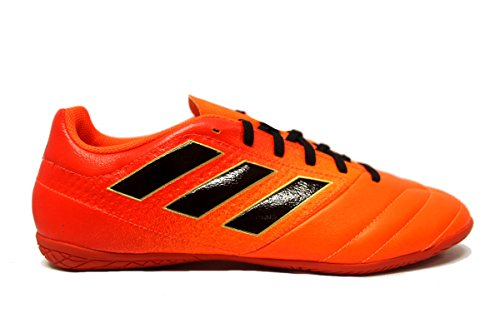 adidas Ace 17.4 In Men's Indoor Soccer Shoes (9.5, Solar Orange/Black/Solar Red)