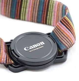 8位.カメラ用アクセサリー レンズキャップホルダー