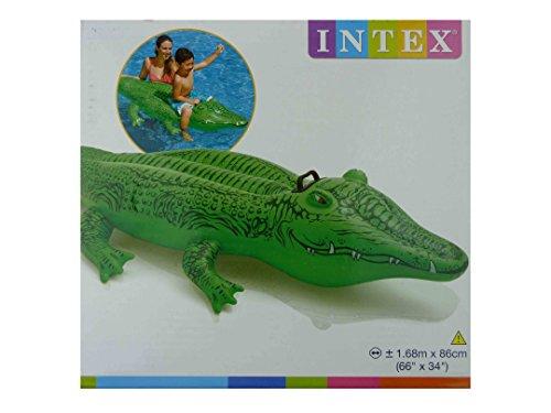 XXL Krokodil 168cm Schwimmtier Aufblastier