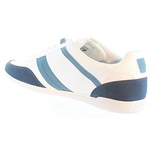 Lacoste Giron 316 1 Spm Wht - 732spm0018001 Vit-blå-marinblått