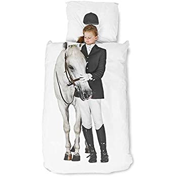 Snurk Equestrian Horse Duvet, Twin