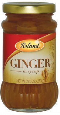 Roland Ginger in Heavy Syrup 9.5 Oz (24 Pack) by Roland