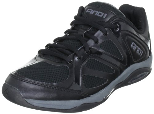 AND1 ASSASSIN LOW 1001201019 - Zapatillas de baloncesto unisex Negro