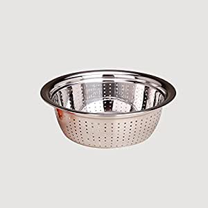 Stainless steel round face and vegetables basket kitchen drain basket fruit basket pots,Style 4