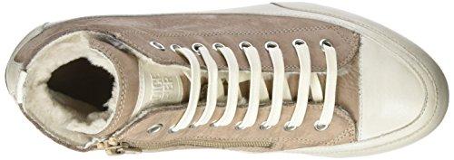 Invecchiato Beige rosa Hautes Cooper Femme Candice Baskets Nabuk 86Wx07