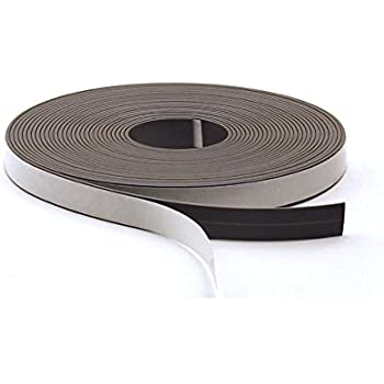 Hygloss Products, Inc. Magnetic Tape, Self- Adhesive, 1/2-Inch x 300-Inch