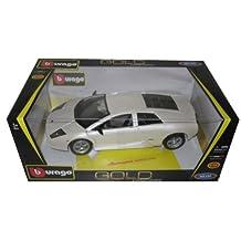 Bburago 12022w Lamborghini Murcielago Pearl White 1-18 Diecast Car Model