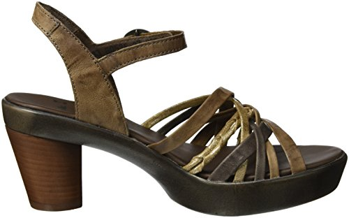 Think! Gspusal, Women's Open Toe Sandals Beige (Taupe/Kombi 27)