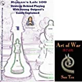 Roman's Labs Chess Vol. 109: Strategy Behind Playing with Strong Outposts Easily Explained Chess DVD & ChessCentral's Art of War E-Book (2 Item Bundle)