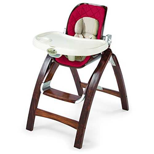 Summer Infant Bentwood Highchair, Country Time Cranberry