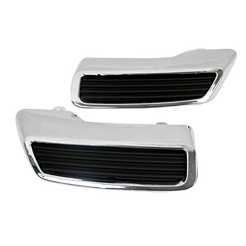 HIGH FLYING Replacement! ABS Chrome Rear Exhaust Muffler Tip End Pipe Cover Trim 2pcs For 3008 Allure Active 5008 2017 2018 For Car Accessory YUZHONGTIAN Auto Trims Co. Ltd